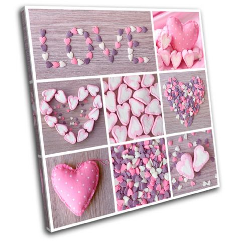 Love Collage shabby chic Love - 13-0196(00B)-SG11-LO